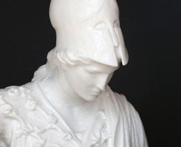 3D Printed Roman busts of Athena and Augustus