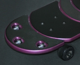 3D Printed ABS Skateboard